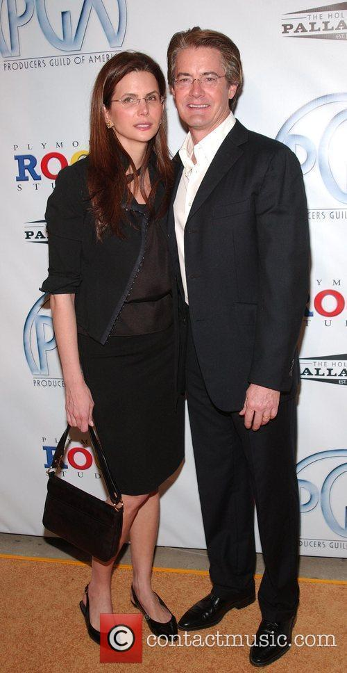 Desiree Gruber, Kyle MacLachlan 20th Annual Producers Guild...