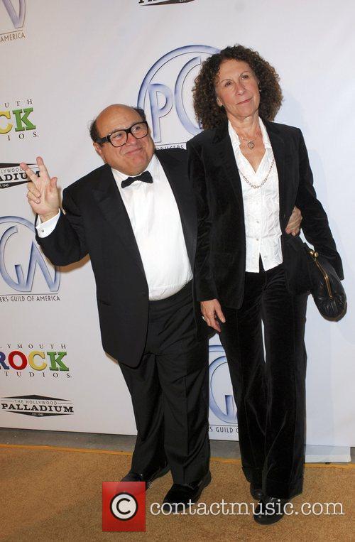 Danny DeVito and Rhea Perlman The 20th Annual...