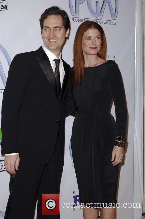 Debra Messing and Daniel Zelman The 20th Annual...