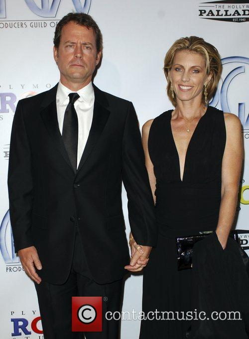 Greg Kinnear and wife The 20th Annual Producers...