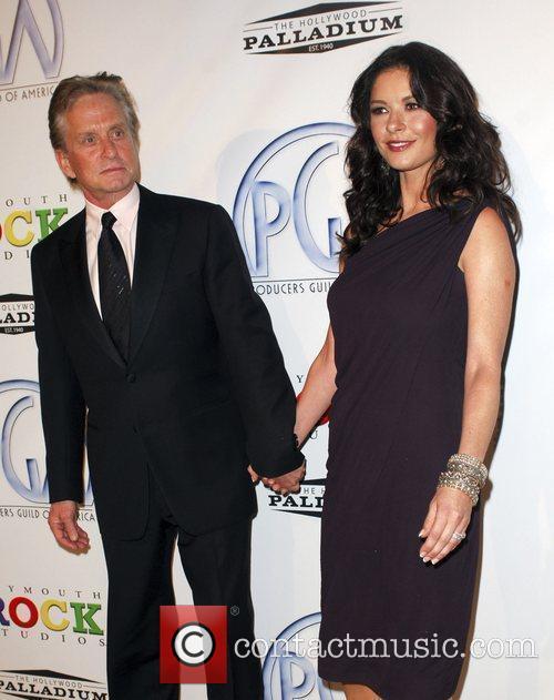 Michael Douglas and Catherine Zeta Jones The 20th...