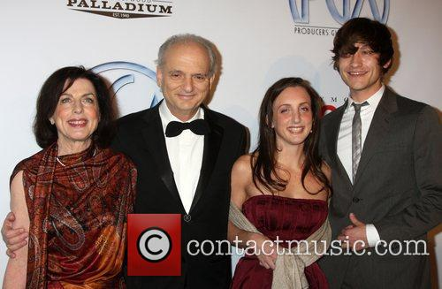David Chase and family 20th Annual Producers Guild...