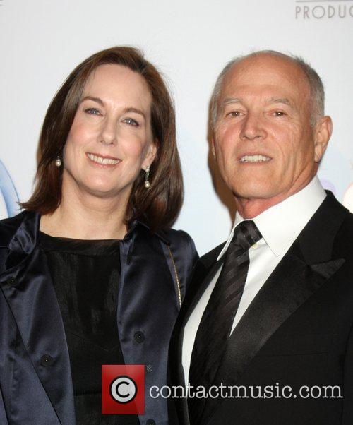 Kathleen Kennedy and Frank Marshall
