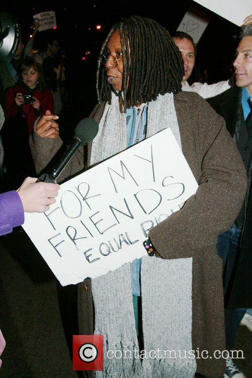 Whoopi Goldberg and Jesus Christ