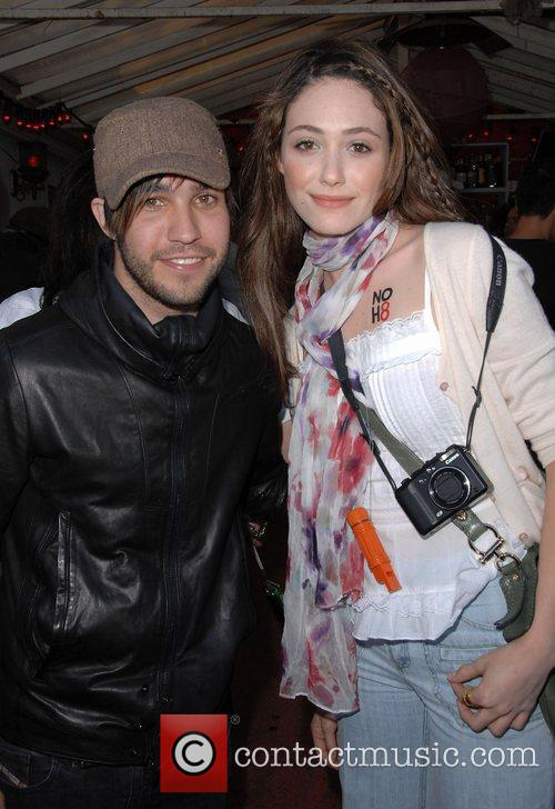 Pete Wentz and Emmy Rossum 2