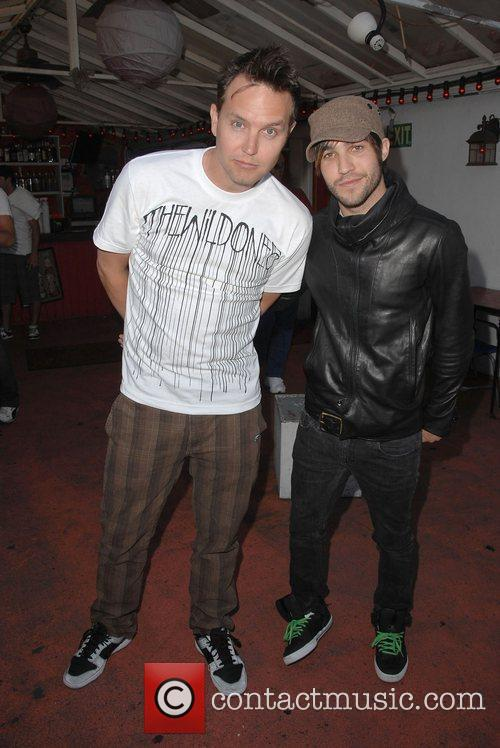 Pete Wentz and Mark Hoppus 1