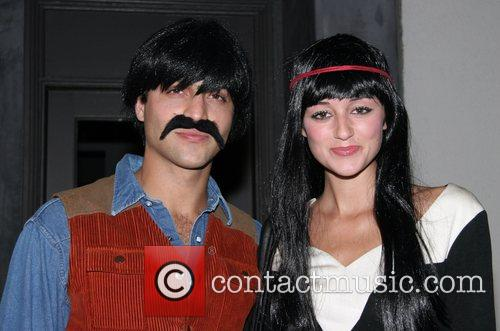 Alexander DiPersia and Caroline D'Amore Pur Jeans Halloween...