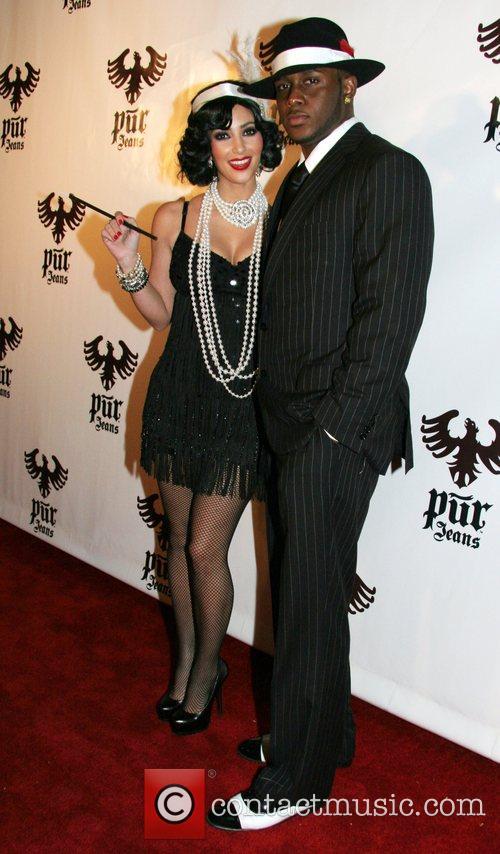 Kim Kardashian and Reggie Bush 1