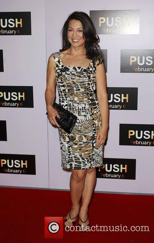 Ming Na Wen Los Angeles Premiere of 'Push'...