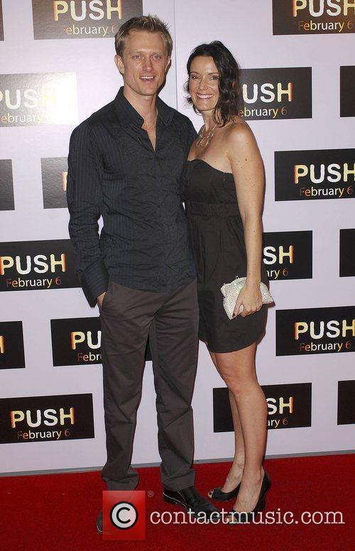 Neil Jackson and Kylie Furneax Los Angeles Premiere...