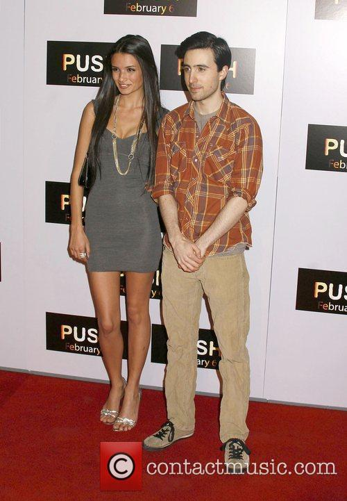 Alice Grezyn and Josh Zuckerman Los Angeles Premiere...