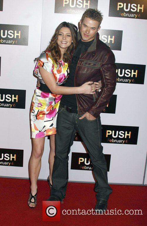 Ashley Greene and Kellan Lutz Los Angeles Premiere...