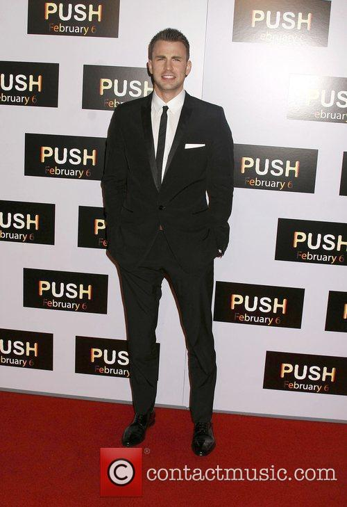 Chris Evans Los Angeles Premiere of 'Push' held...