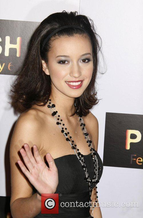 Christian Serratos Los Angeles Premiere of 'Push' held...
