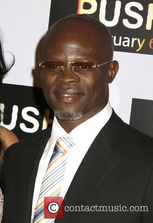 Djimon Hounsou Los Angeles Premiere of 'Push' held...