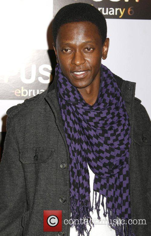Edi Gathegi Los Angeles Premiere of 'Push' held...