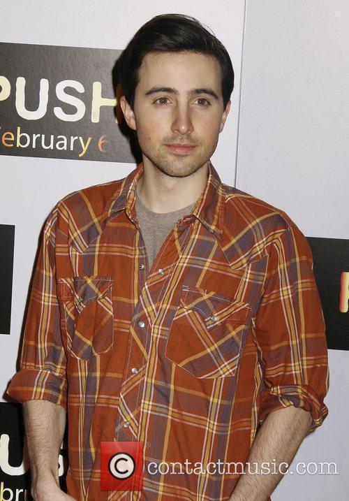 Josh Zuckerman Los Angeles Premiere of 'Push' held...
