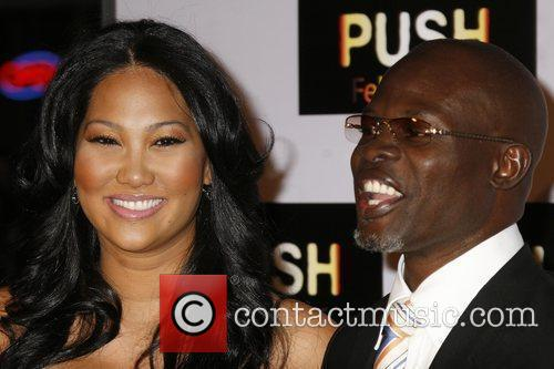 Kimore Lee and Djimon Hounsou Los Angeles Premiere...