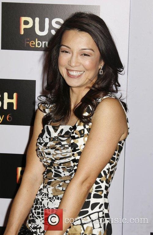 Ming-Na Wen Los Angeles Premiere of 'Push' held...