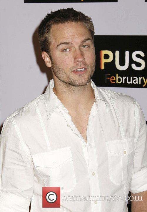 Scott Porter Los Angeles Premiere of 'Push' held...