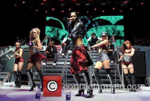 Pussycat Dolls, Melody Thornton, Ashley Roberts, Jessica Sutta, Kimberly Wyatt and Carmit Bachar 3