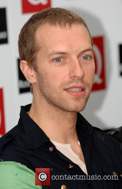 Chris Martin The 2008 Q Awards at the...