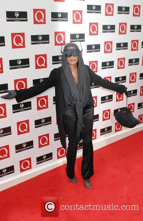 Grace Jones The 2008 Q Awards at the...