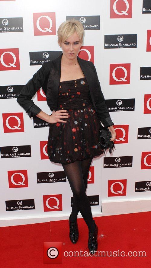 Kimberley Stewart  The 2008 Q Awards at...