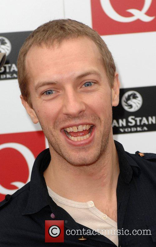 Chris Martin of Coldplay The 2008 Q Awards...