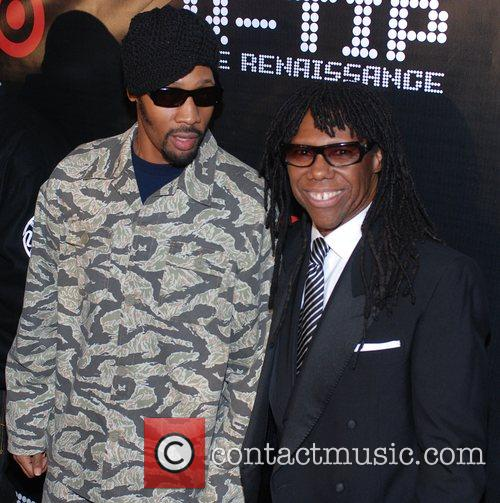 The album release party for Q-Tip's 'The Renaissance'...