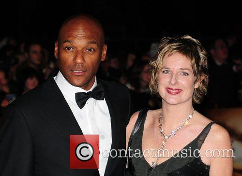 Colin Salmon and James Bond 2