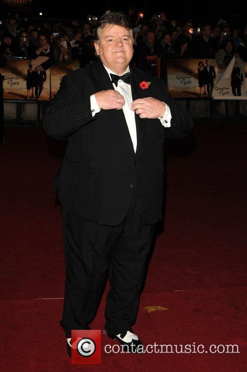 Robbie Coltrane and James Bond 4