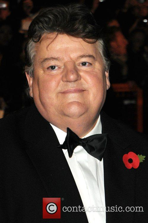 Robbie Coltrane and James Bond 5