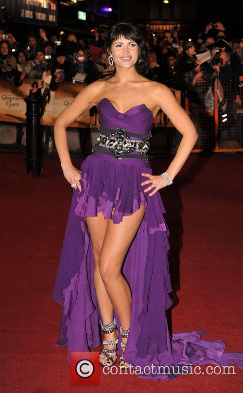 Gemma Arterton and James Bond 22