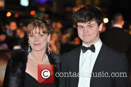 Samantha Bond and James Bond 7