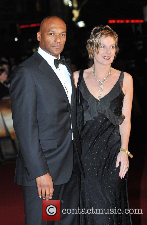 Colin Salmon The World premiere of the new...