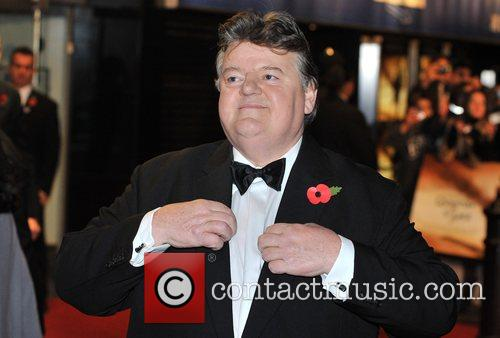 Robbie Coltrane and James Bond 10