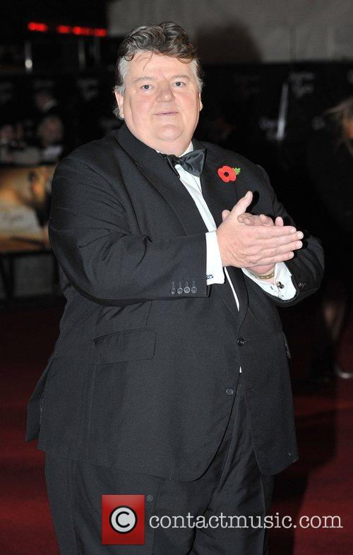 Robbie Coltrane and James Bond 9