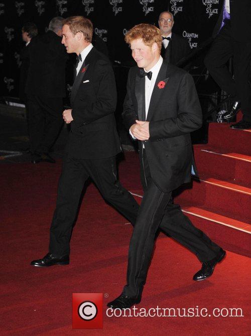 Prince William, James Bond and Prince Harry 8