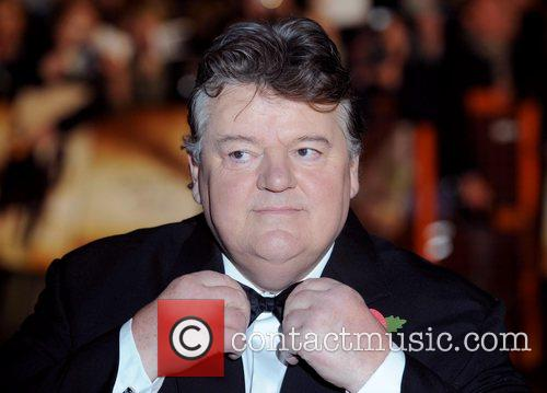 Robbie Coltrane and James Bond 2