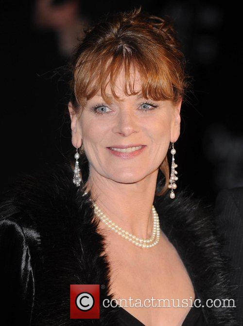 Samantha Bond and James Bond 3