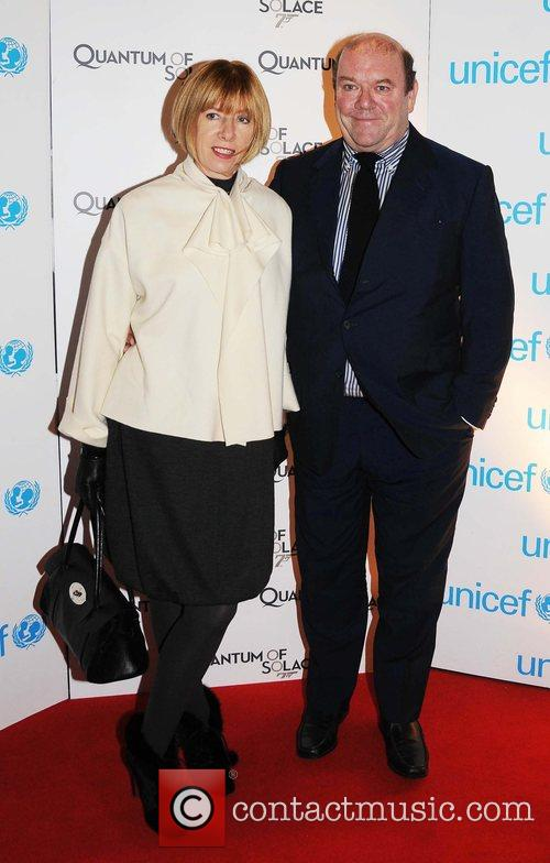 Kathy Gilfinnan and James Bond 1