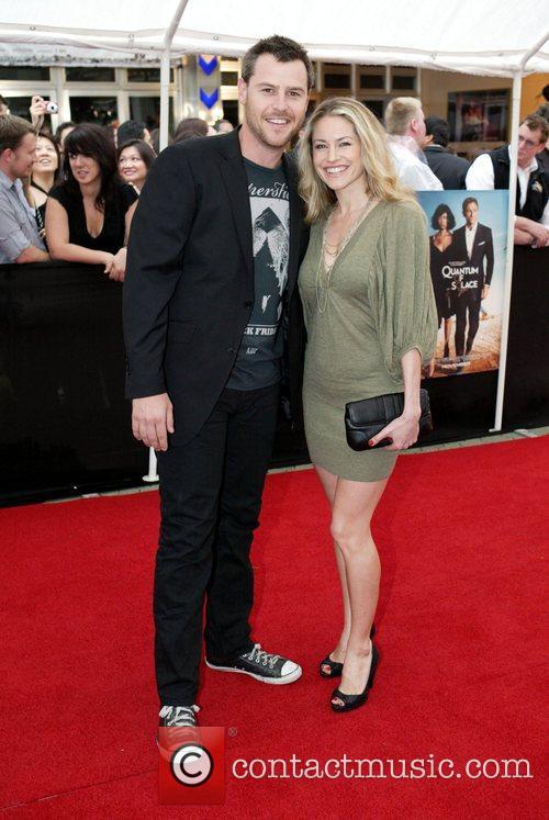 Roger Corser and Renee Berr The Australian premiere...