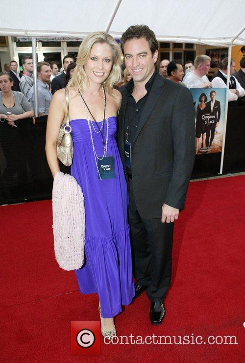 Sami Lucas and partner The Australian premiere of...