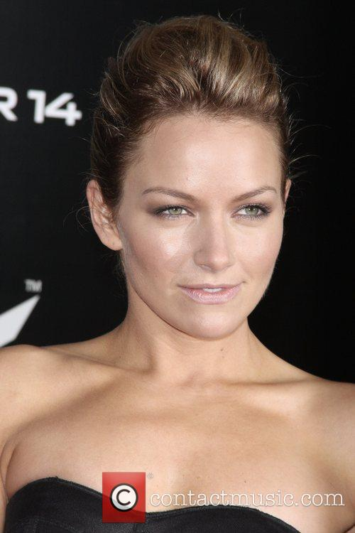 Becki Newton and James Bond 2