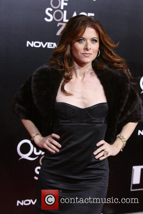 Debra Messing and James Bond 5