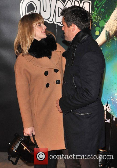 Gaby and Kenny Logan Quidam - VIP premiere...