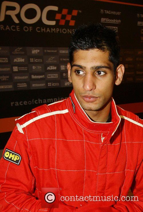 Amir Khan The Race of Champions held at...
