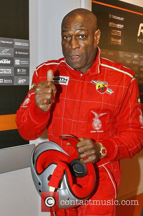 Frank Bruno The Race of Champions held at...