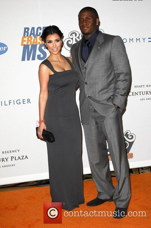 Kim Kardashian and Reggie Bush 1